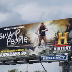 Swamp People TV billboard