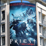 Priest movie bikes billboard