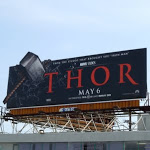 Thor Mjolnir hammer billboard