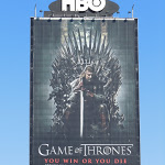 Giant Game of Thrones billboard