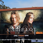 Camelot Starz TV billboard