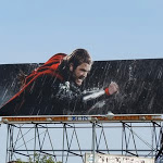 Thor movie billboard