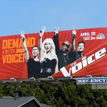 Demand a better Voice billboard