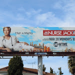 Nurse Jackie season 3 TV billboard
