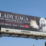 Lady Gaga Monster Ball Tour HBO billboard