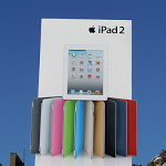 Apple iPad2 white billboard