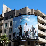 Fast Five movie billboard Hollywood