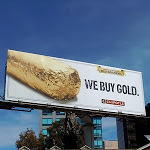 Chipotle We Buy Gold billboard