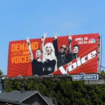 The Voice TV billboard