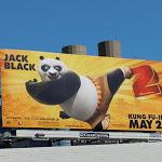Kung Fu Panda 2 billboard
