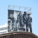 Burberry FW 2012 billboard San Francisco