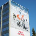 Giant Absolut Greyhound Vodka billboard