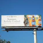 Blue Moon Beer Summer Artfully crafted billboard