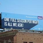 One full season Roku billboard