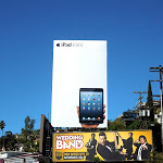 Giant Apple iPad mini billboard Sunset Strip
