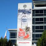 Absolut Greyhound Vodka billboard SLS Hotel