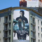 Total Recall movie billboard