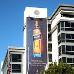 Johnnie Walker Blue Label whisky bottle billboard