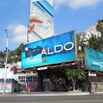 Aldo Shoes denim blue billboard FW 2012