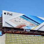 Apple iPad snap magazine billboard