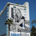 Jennifer Aniston Smart Water billboard