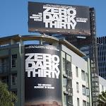 Zero Dark Thirty movie billboards