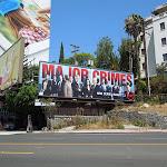 Major Crimes TNT billboard