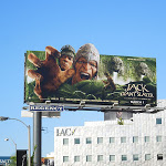 Jack Giant Slayer film billboard