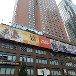 NBC sitcom billboards Broadway NYC