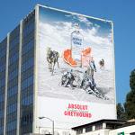 Giant Absolut Greyhound billboard