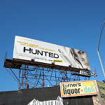 Hunted TV billboard