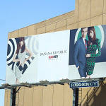 Banana Republic Mad Men Mod Collection Spring 2013 billboard