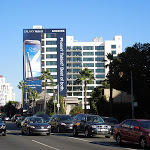 Samsung Galaxy Note 2 billboard Sunset Boulevard
