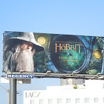 Gandalf Hobbit Unexpected Journey billboard