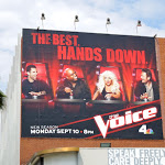 Voice season 3 NBC billboard