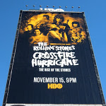 Rolling Stones Crossfire Hurricane billboard