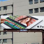 Apple iPad 3 second wave billboard