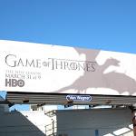 Game of Thrones dragon shadow season 3 billboard
