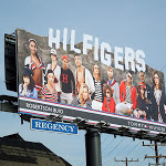 Hilfigers Hollywood Sign special extension billboard Sunset Strip