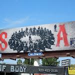 Sons of Anarchy season 5 FX billboard