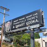 Sobieksi smart vodka billboard