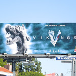 Vikings series premiere teaser billboard