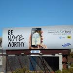 Samsung Galaxy Be Note Worthy billboard
