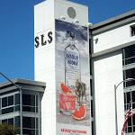 Absolut Greyhound Vodka billboard SLS Hotel LA