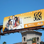 Go On sitcom billboard
