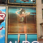 Aldo Anais Pouliot blinds billboard NYC