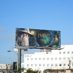 Hobbit movie billboard