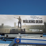 Walking Dead season 3 TV billboard