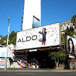 Aldo ticker tape billboard