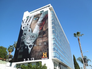 Giant Vikings series premiere billboard